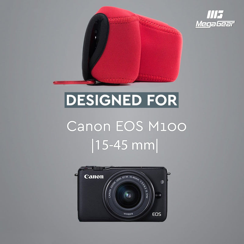 MegaGear Canon EOS M100 (15-45mm) Ultra Light Neoprene