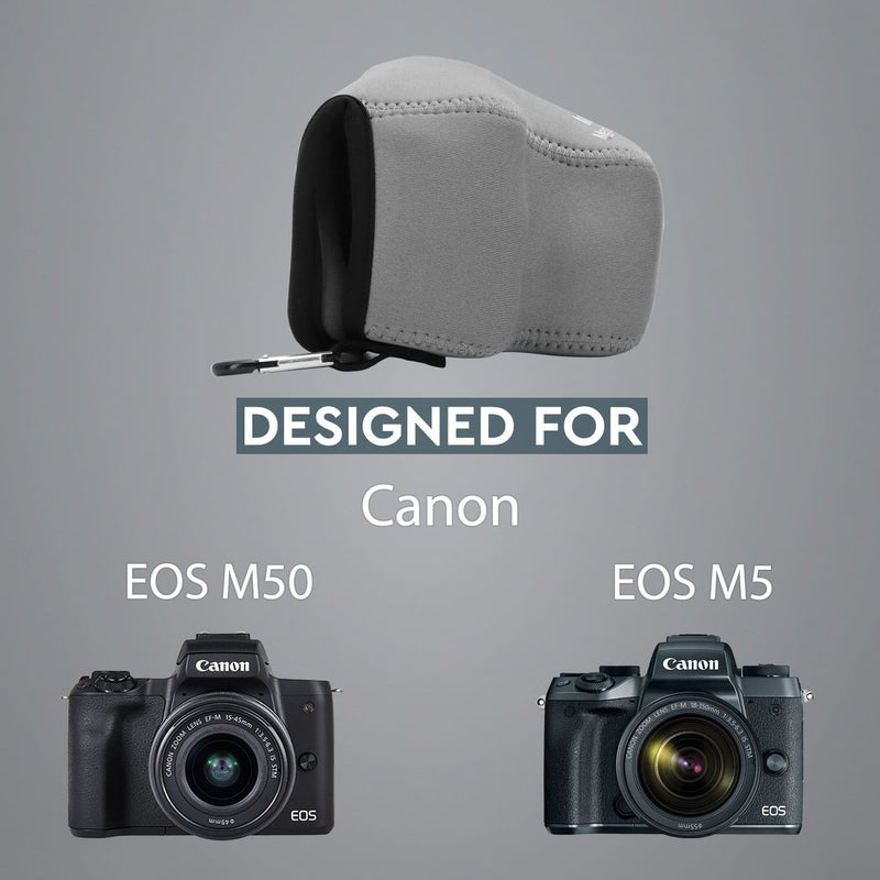 MegaGear Canon EOS M50 M5 (15-45mm) Ultra Light Neoprene