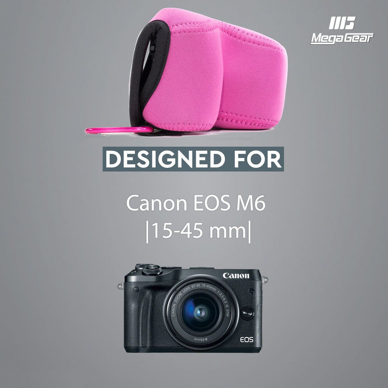 MegaGear Canon EOS M6 (15-45 mm) Ultra Light Neoprene Camera