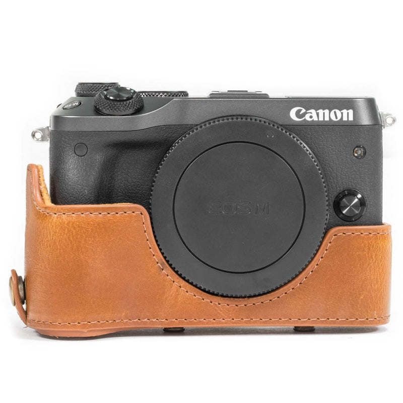 MegaGear Canon EOS M6 (18-150 mm) Ever Ready Leather Camera