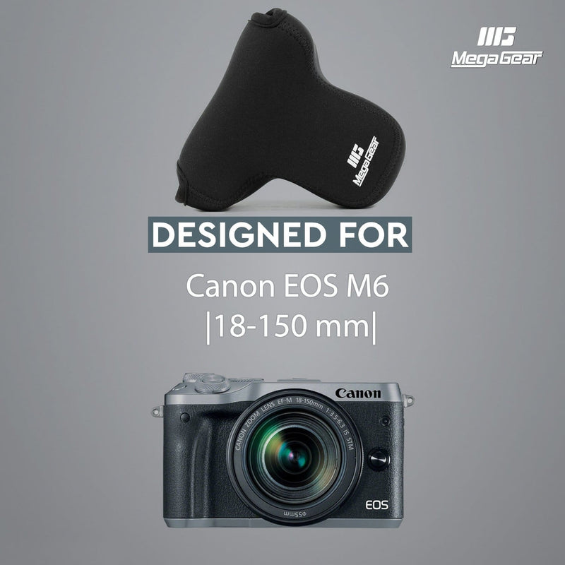 MegaGear Canon EOS M6 (18-150 mm) Ultra Light Neoprene