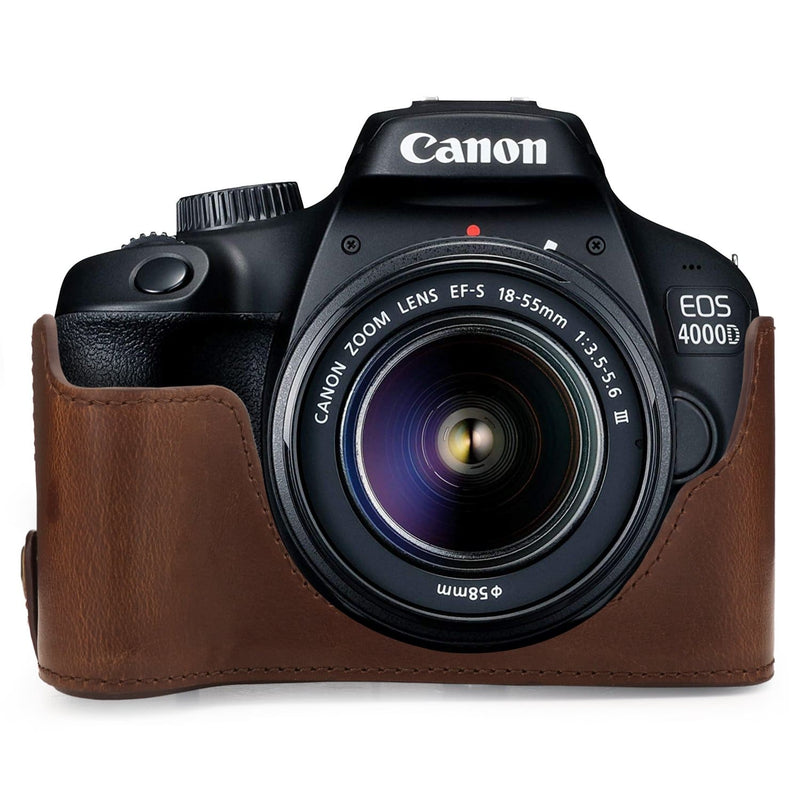 MegaGear Canon EOS Rebel T100 Ever Ready Leather Camera Case