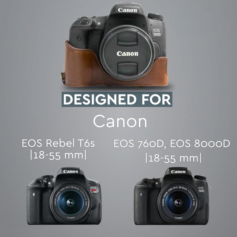 MegaGear Canon EOS Rebel T6s 8000D 760D (18-55 mm) Ever