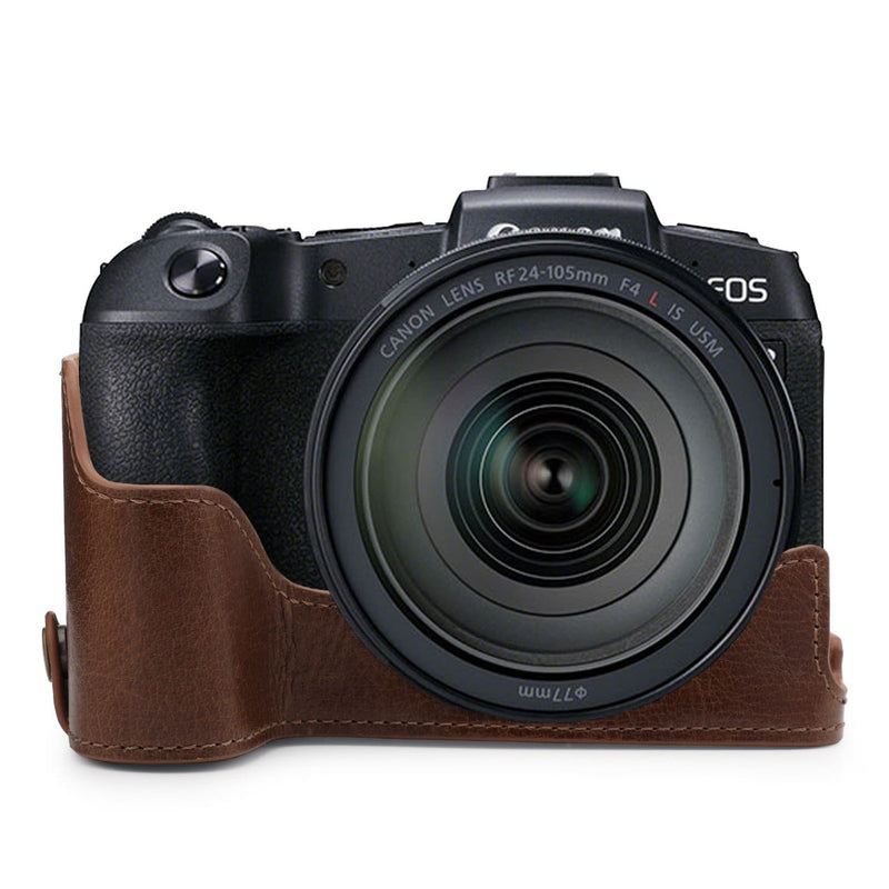 MegaGear Canon EOS RP Ever Ready Genuine Leather Camera Case