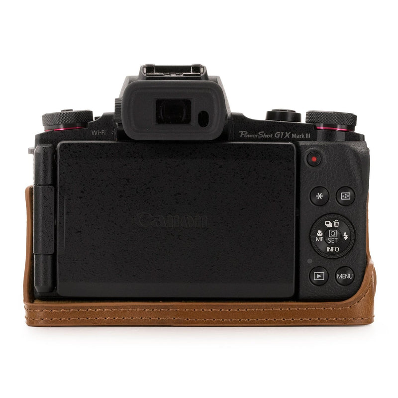 MegaGear Canon PowerShot G1X Mark III Ever Ready Leather