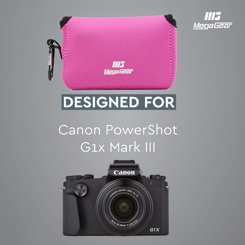 MegaGear Canon PowerShot G1X Mark III Ultra Light Neoprene