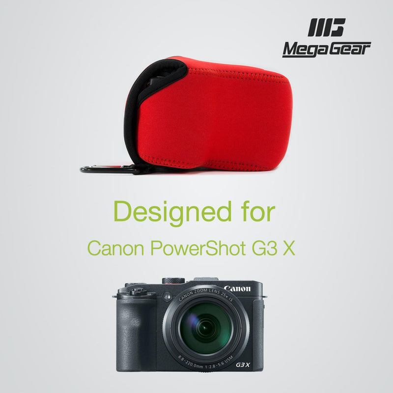 MegaGear Canon PowerShot G3 X Ultra Light Neoprene Camera