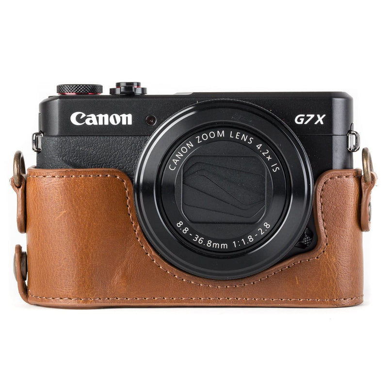 MegaGear Canon PowerShot G7 X Mark II Ever Ready Leather