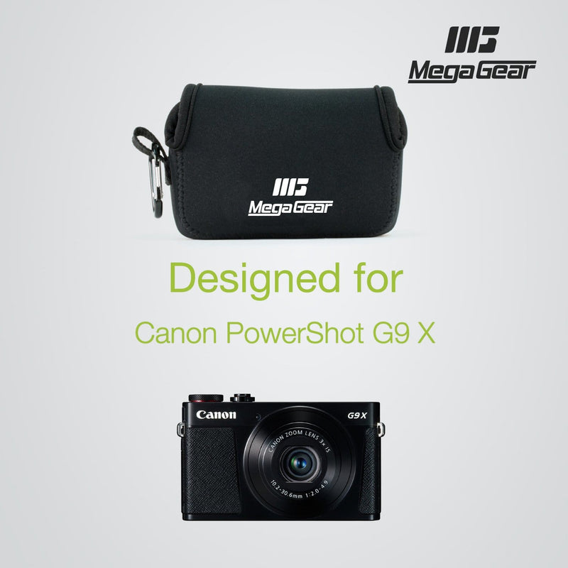 MegaGear Canon PowerShot G9 X Mark II Ultra Light Neoprene