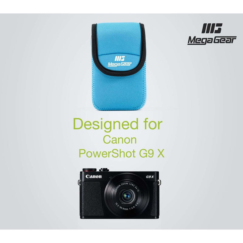 MegaGear Canon PowerShot G9 X Ultra Light Neoprene Camera