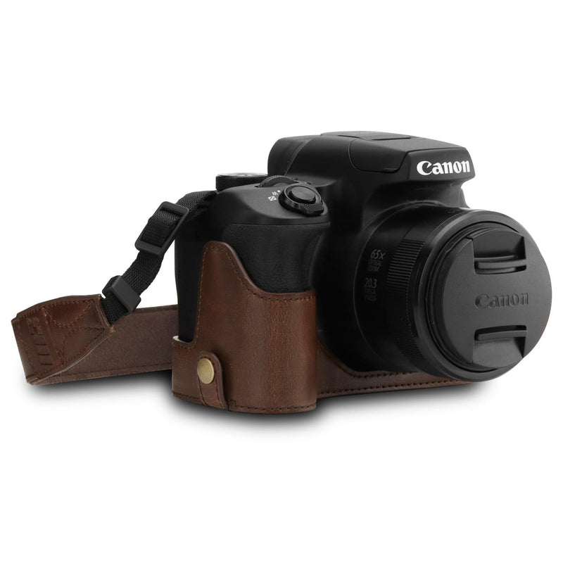 MegaGear Canon PowerShot SX70 HS Ever Ready Leather Camera