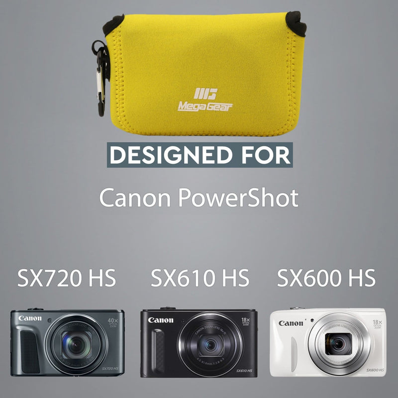 MegaGear Canon PowerShot SX720 HS SX610 SX600 Ultra Light