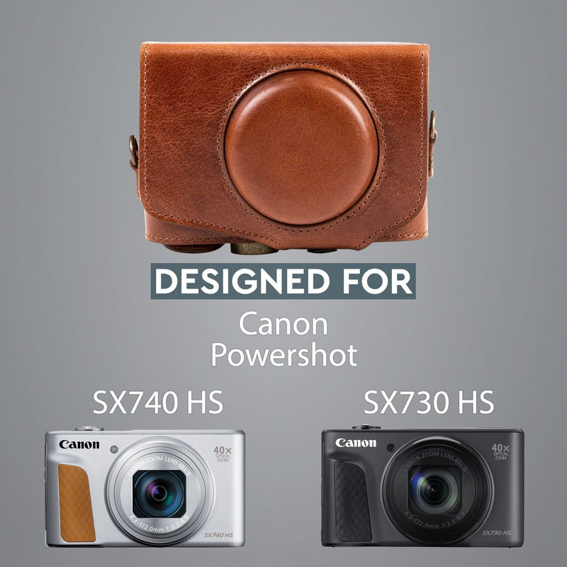 MegaGear Canon PowerShot SX740 HS SX730 Ever Ready Genuine