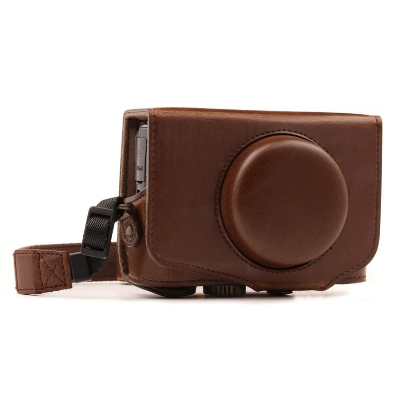 MegaGear Canon PowerShot SX740 HS SX730 Ever Ready Leather