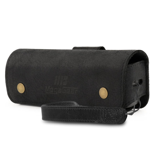 MegaGear DJI Osmo Pocket Genuine Leather Camera Case - Black