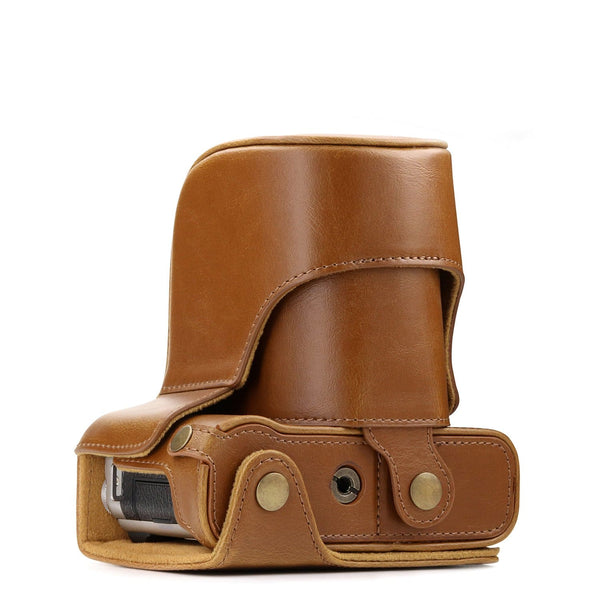 MegaGear Fujifilm X-A10 Ever Ready Leather Camera Case and