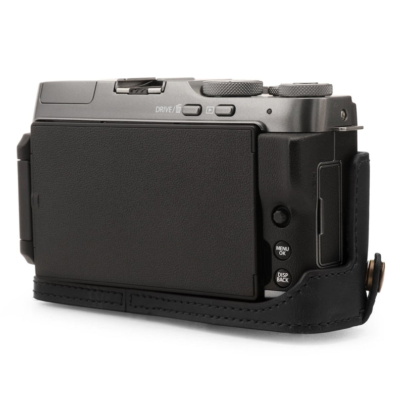 MegaGear Fujifilm X-A7 Ever Ready Leather Camera Half Case