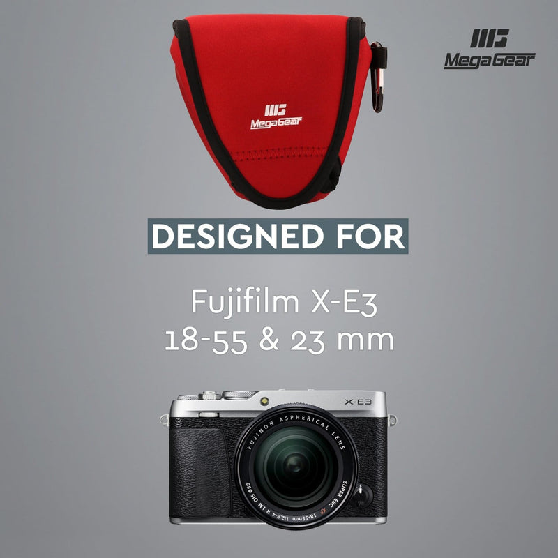 MegaGear Fujifilm X-E3 (23mm&18-55mm) Ultra Light Neoprene
