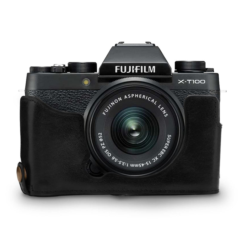 MegaGear Fujifilm X-T100 Ever Ready Genuine Leather Camera