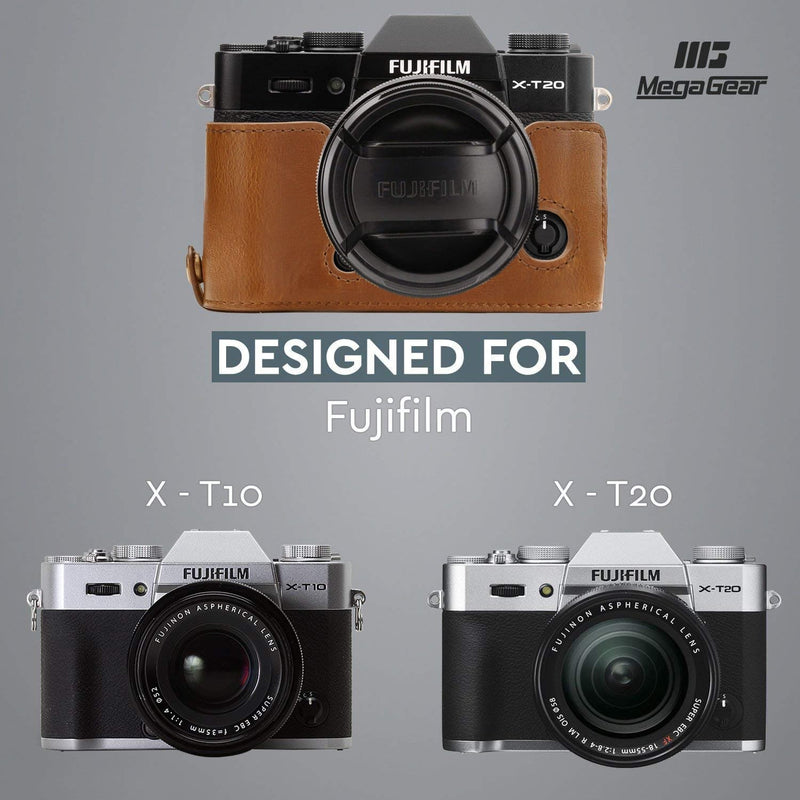 MegaGear Fujifilm X-T30 X-T20 X-T10 Ever Ready Leather