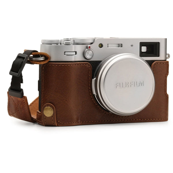 MegaGear Fujifilm X100V Ever Ready Genuine Leather Camera