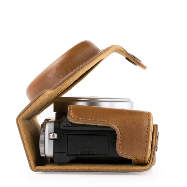 MegaGear Fujifilm X70 Ever Ready Leather Camera Case with