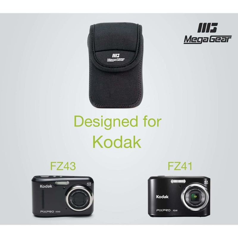 MegaGear Kodak PixPro FZ43 FZ41 Ultra Light Neoprene Camera