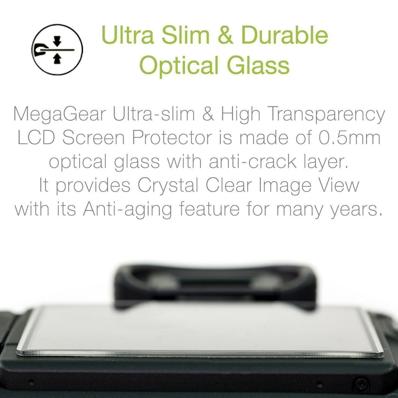MegaGear Leica C-Lux Camera LCD Optical Screen Protector
