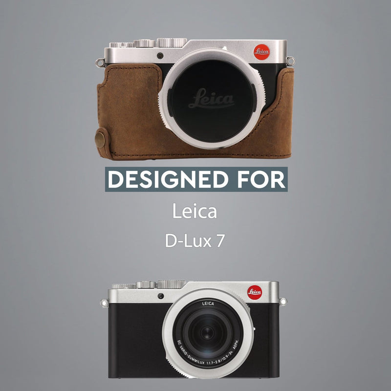 MegaGear Leica D-Lux 7 Ever Ready Genuine Leather Camera