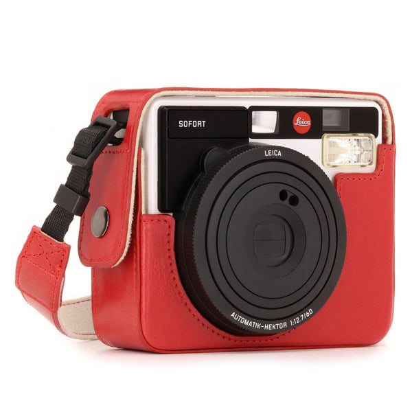 MegaGear Leica Sofort Instant Ever Ready Leather Camera Case