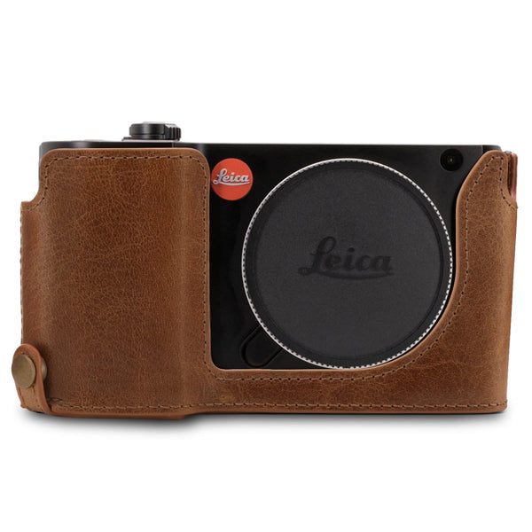 MegaGear Leica TL2 TL Ever Ready Genuine Leather Camera Half