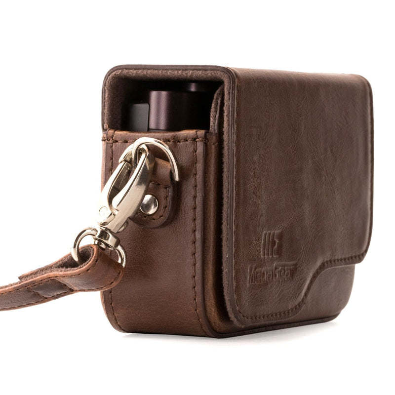 MegaGear Leica C Typ 112 Leather Camera Case with Strap -