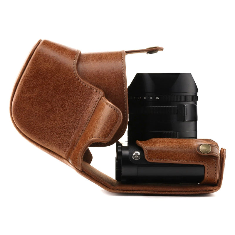 MegaGear Leica Q-P Q (Typ 116) Ever Ready Genuine Leather