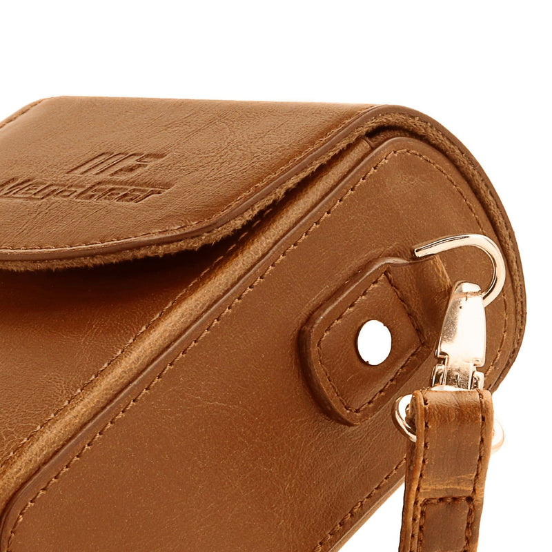 MegaGear Nikon Coolpix A1000 A900 Leather Camera Case with