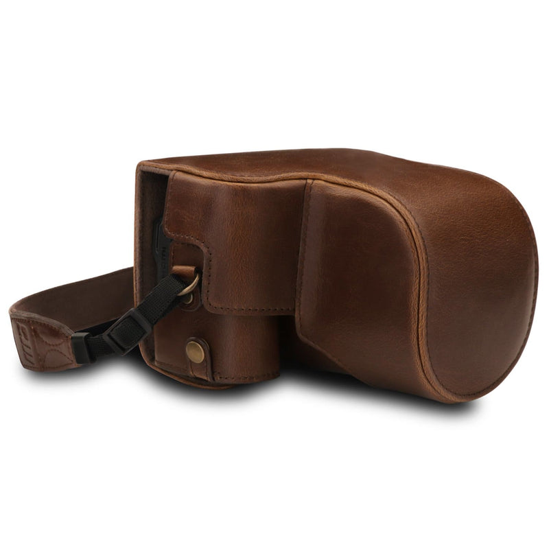 MegaGear Nikon Coolpix B600 Ever Ready Leather Camera Case -