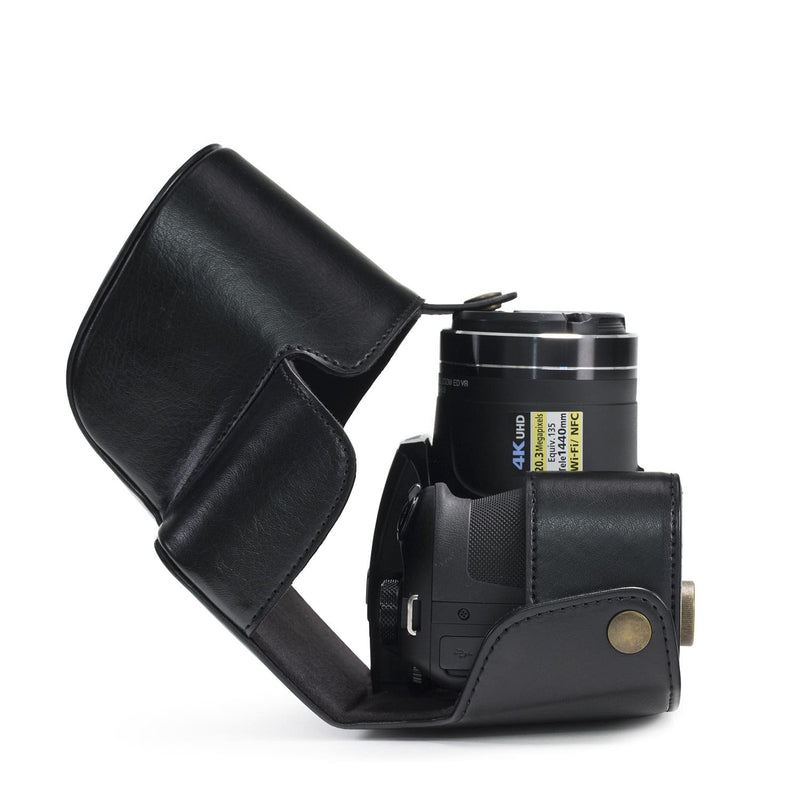 MegaGear Nikon Coolpix B700 Ever Ready Leather Camera Case