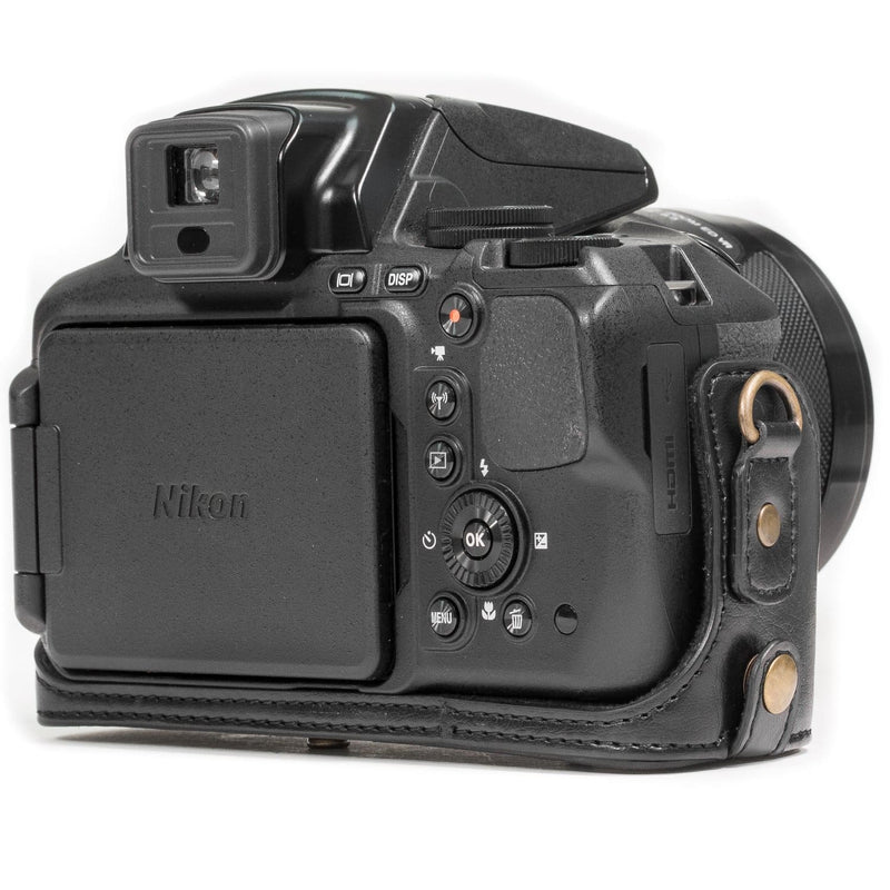 MegaGear Nikon Coolpix P900 P900S Ever Ready Leather Camera