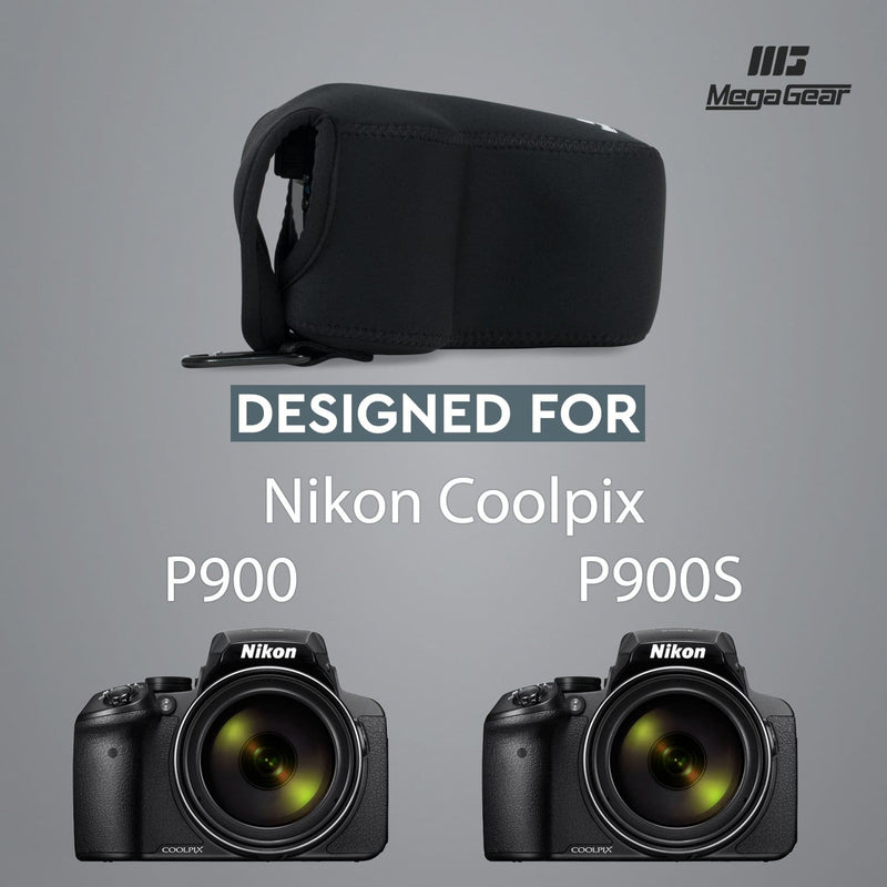MegaGear Nikon Coolpix P900 P900S Ultra Light Neoprene