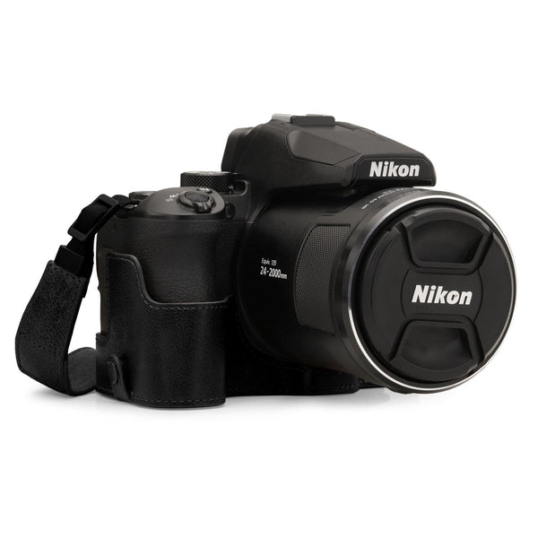 MegaGear Nikon Coolpix P950 Ever Ready Genuine Leather