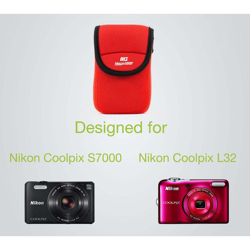 MegaGear Nikon Coolpix S7000 L32 Ultra Light Neoprene Camera