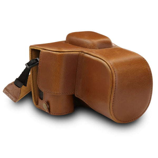 MegaGear Nikon D3500 Ever Ready Leather Camera Case and