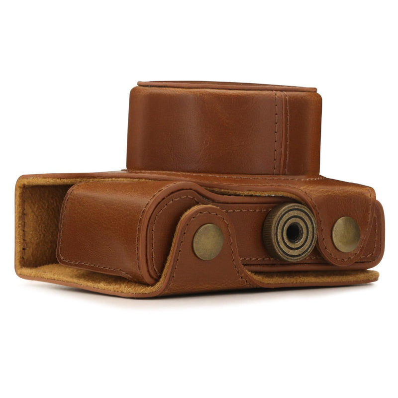 MegaGear Nikon 1 J5 (10-30mm) Ever Ready Leather Camera Case