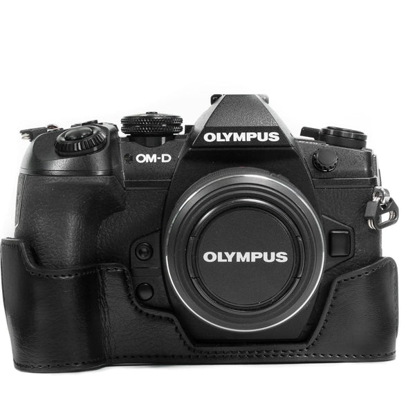 MegaGear Olympus OM-D E-M1 Mark III II Ever Ready Leather