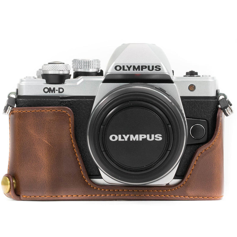 MegaGear Olympus OM-D E-M10 Mark II Ever Ready Leather