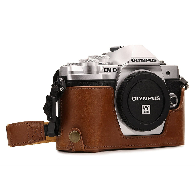 MegaGear Olympus OM-D E-M10 Mark III Ever Ready Leather