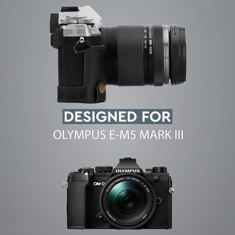 MegaGear Olympus OM-D E-M5 Mark III Ever Ready Genuine