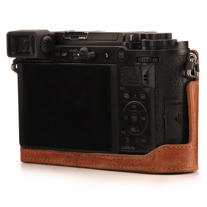 MegaGear Panasonic Lumix DC-GX9 Ever Ready Genuine Leather