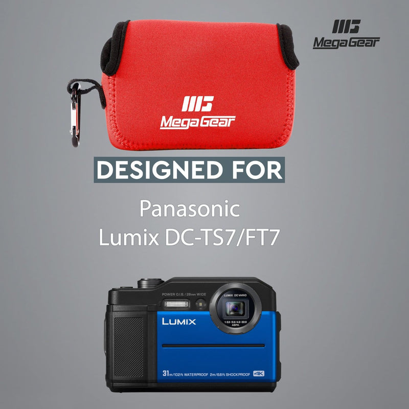 MegaGear Panasonic Lumix DC-TS7 DC-FT7 Ultra Light Neoprene