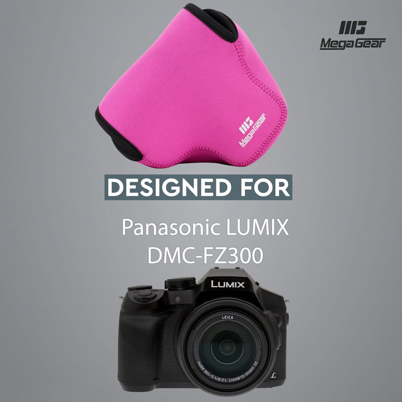 MegaGear Panasonic Lumix DMC-FZ300 Ultra Light Neoprene