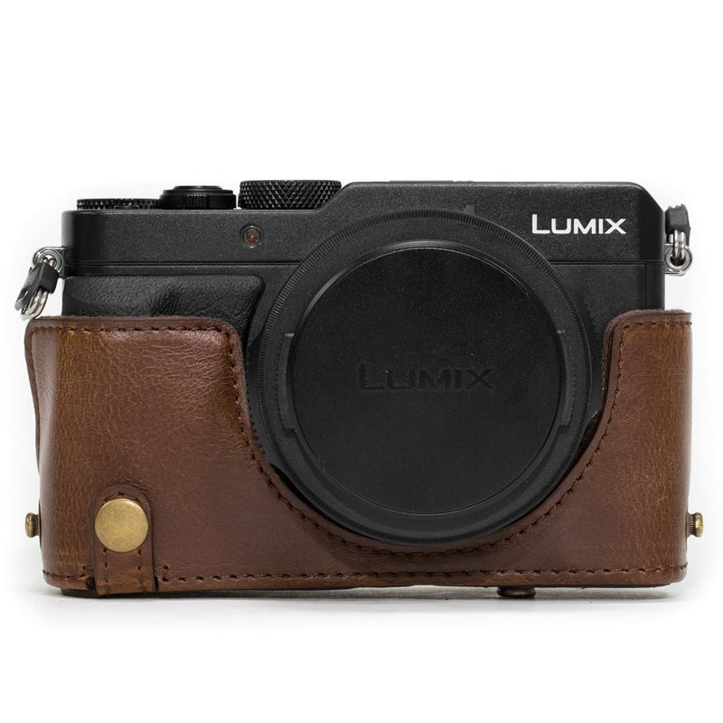 MegaGear Panasonic Lumix DMC-LX100 Ever Ready Leather Camera